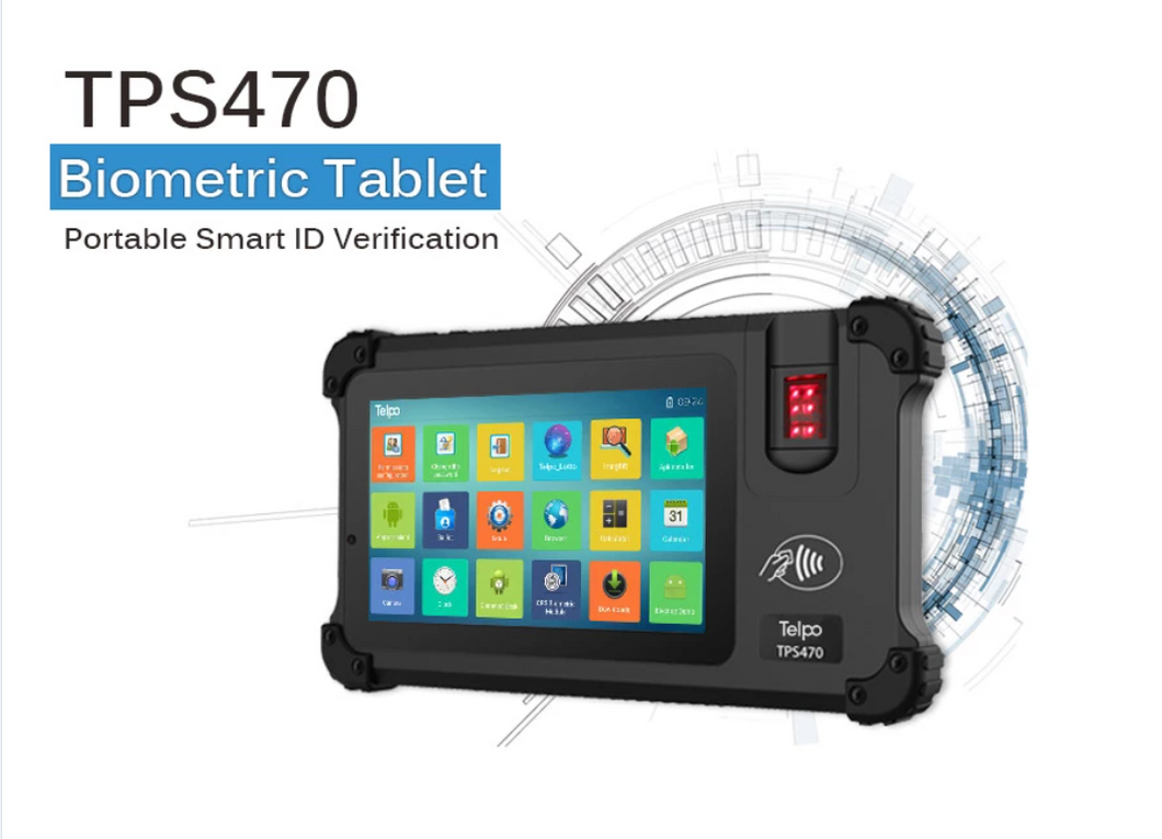 7-inch 3G/4G biometric fingerprint attendance machine Android rfid rugged tablet for EID solution