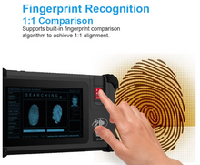 Load image into Gallery viewer, 7-inch 3G/4G biometric fingerprint attendance machine Android rfid rugged tablet for EID solution