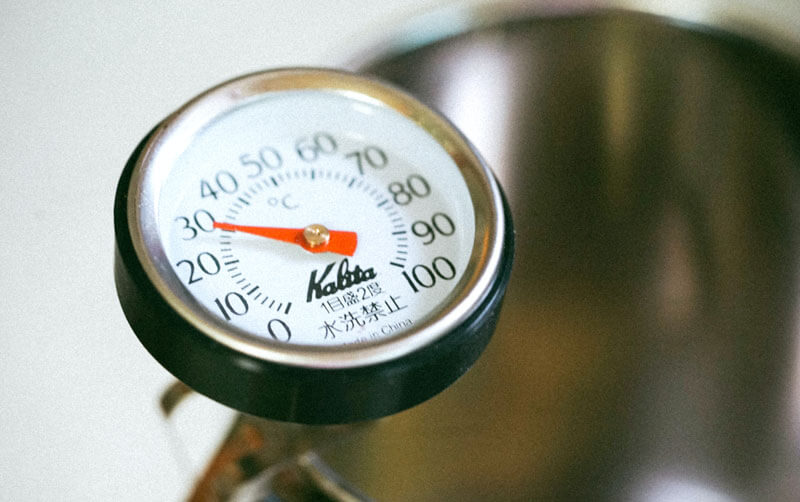 correct water temperature for coffee brewing