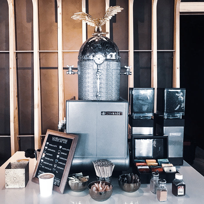 small-silver-espresso-machine-setup