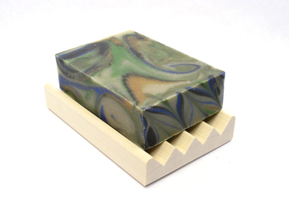 Majestic Cedar Mens bar soap, natural mens soap, Cedarwood soap, biodegradable soap, Woodsy soap that smells like the forest.