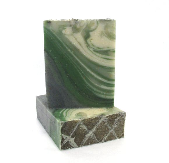 Vetiver Grey all natural men soap bar. Designer fragrance inspired natural blend.