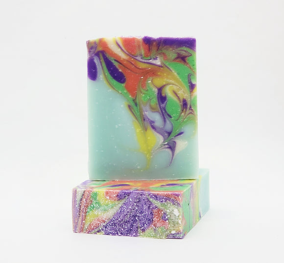 Winsome handcrafted soap bar, Magnolia scented