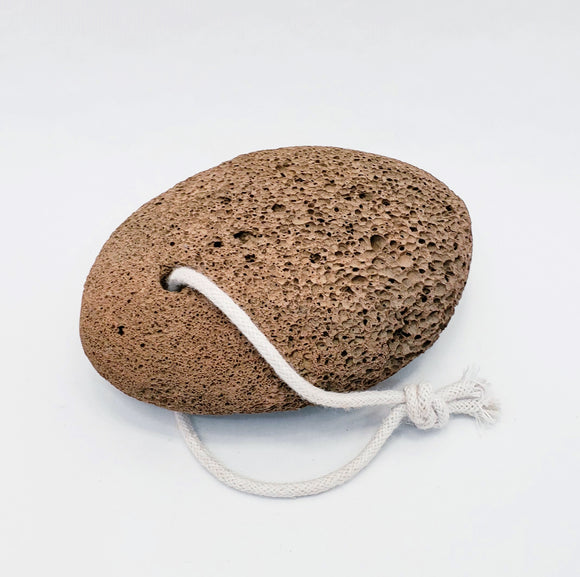 Lava Pumice stone for exfoliation, natural red pumice stone.