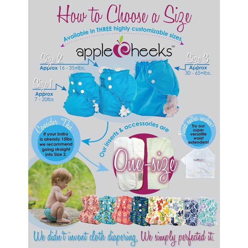 AppleCheeks - Cover - Sized (No insert)