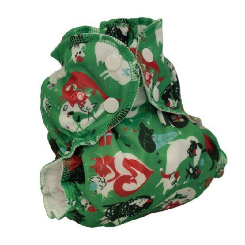 AppleCheeks - Cover - Sized (No insert) - Santa Paws / 1