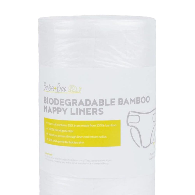 Baba+Boo - Biodegradable Nappy Liners