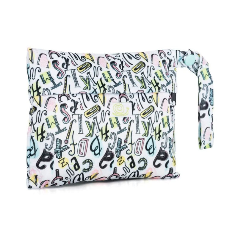 Baba+Boo - Mini Sanitary Pad Reusable Bag - Words