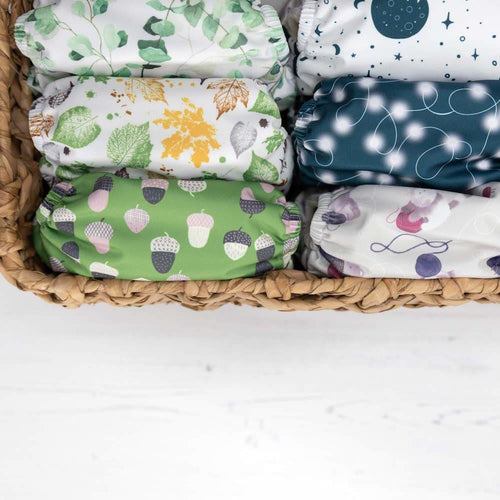 Baba+Boo - One Size Reusable Nappy - Cozy Collection