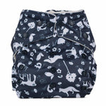 Baba+Boo - One Size Reusable Nappy - Cosy Collection - Nightfall