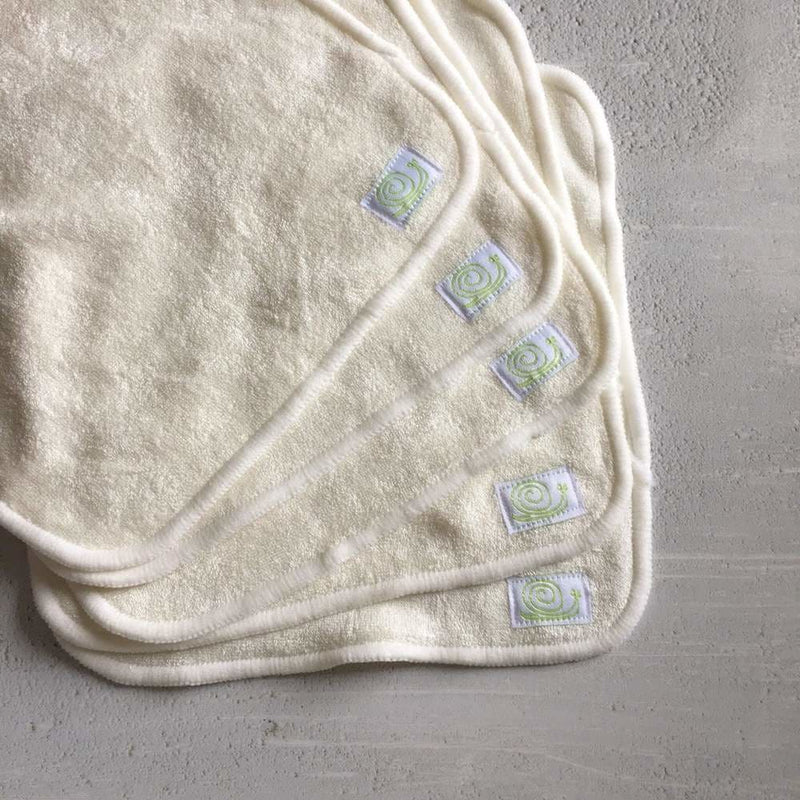 Baba+Boo - Reusable Bamboo Wipes - Plain