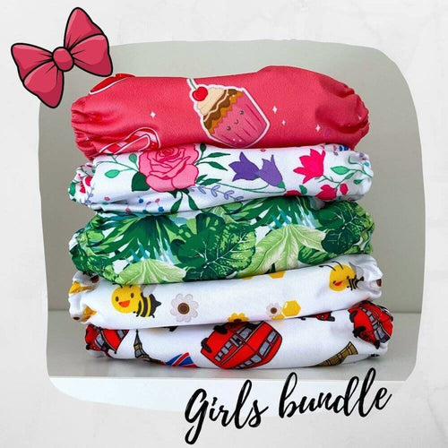 Bundles - BellsBumz Pocket nappy bundle - Girls