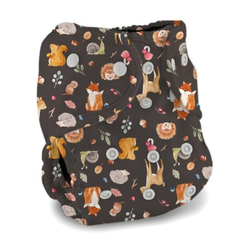 Buttons Diapers - Diaper Cover - One Size - Wildwood