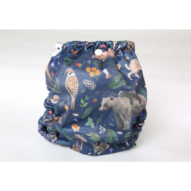 Frog and Bear - Newborn Wraps - Nature calls