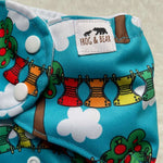 Frog and Bear - XL pocket nappy