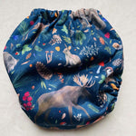 Frog and Bear - XL pocket nappy - Nature Calls