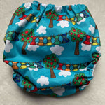Frog and Bear - XL pocket nappy - Reusable Rainbow