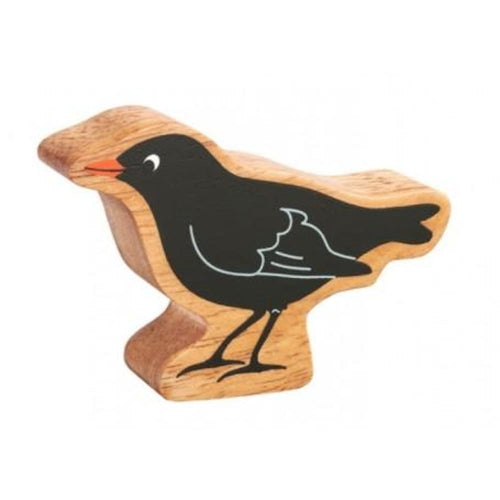 Lanka Kade - Birds Figures - Natural black blackbird