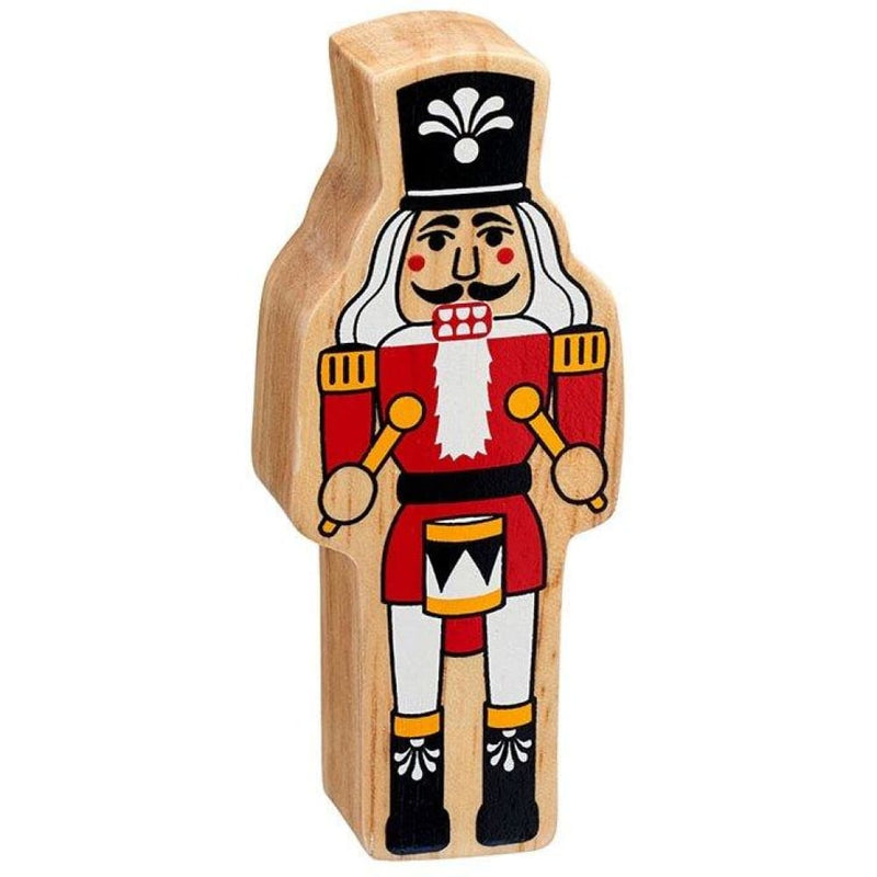 Lanka Kade - Christmas figures - Natural red and white nutcracker