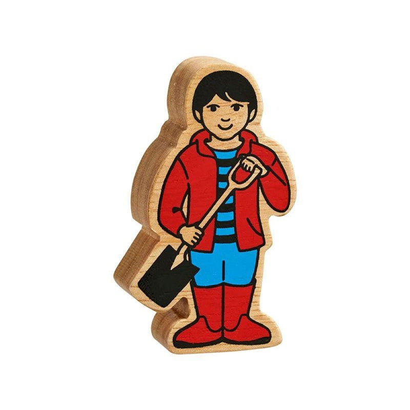 Lanka Kade - People - Children - Natural red & blue boy
