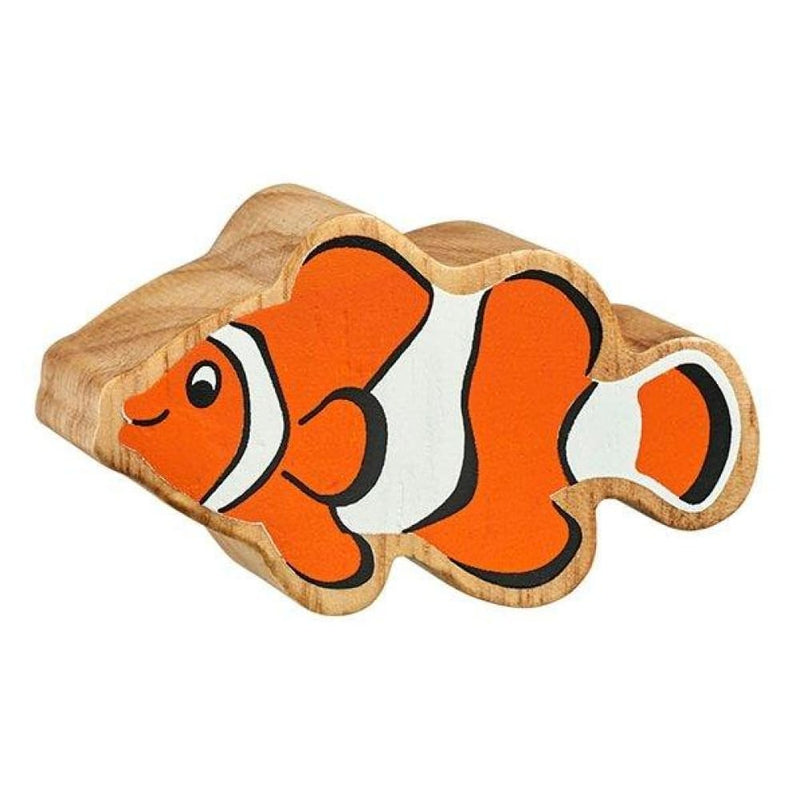 Lanka Kade - Sea animals Figures - Natural orange & white clownfish