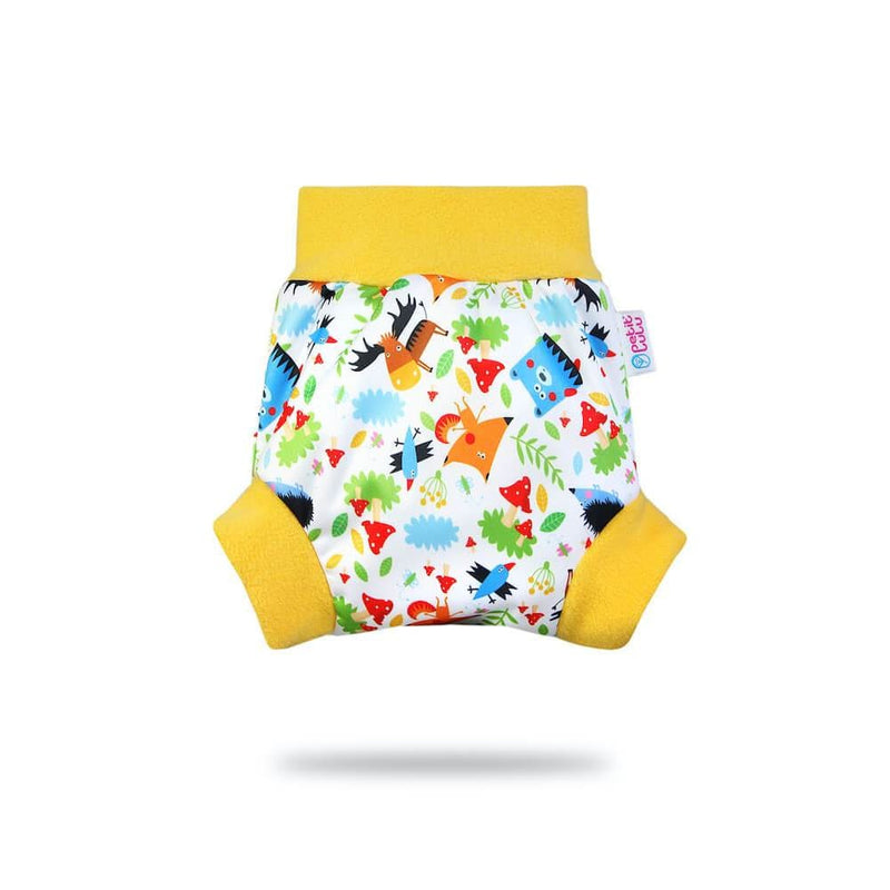 Petit Lulu - Pull-Up Cover (PUL) - Small / Crazy Animals