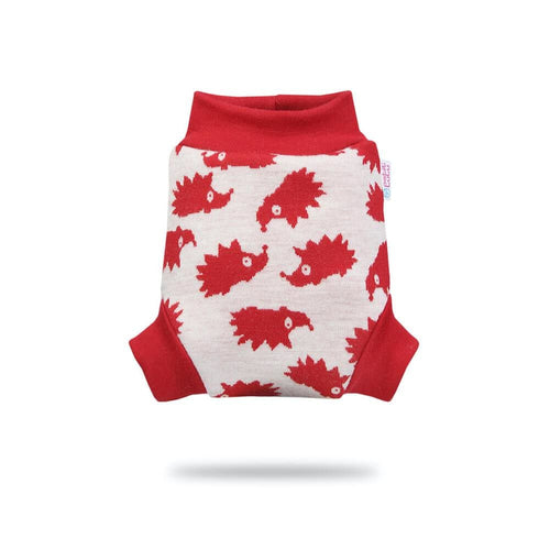 Petit Lulu - Pull-Up (wool) - Small / Red Hedgies