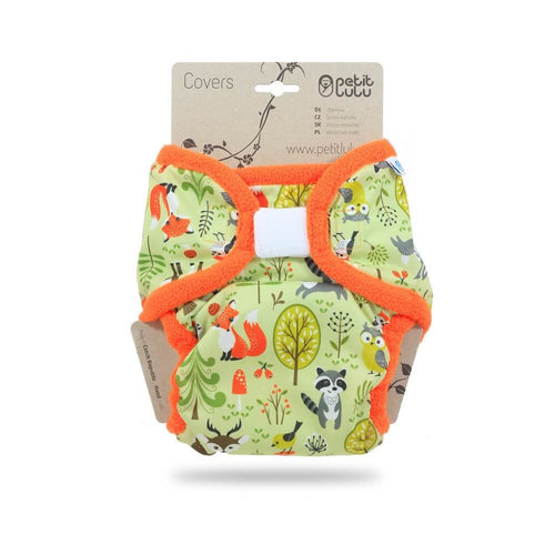 Petit Lulu - XL PUL Cover - Forest Animals