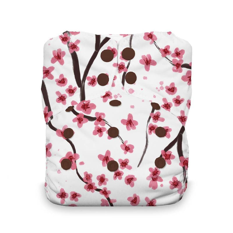 Thirsties - Natural Stay Dry All in One Nappy - Sakura
