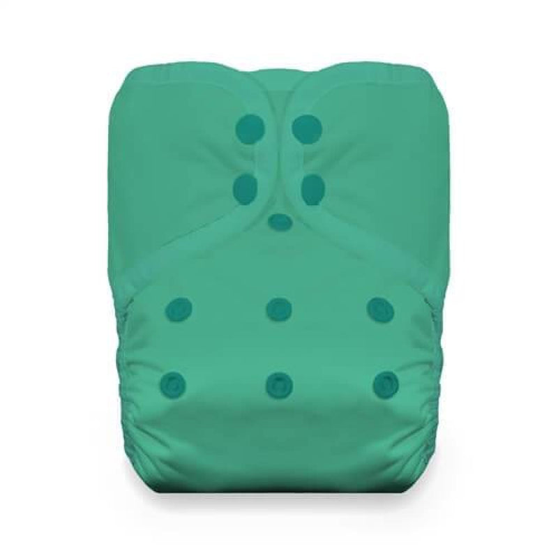 Thirsties - One Size Stay-Dry Pocket Nappy - Snaps - Seafoam