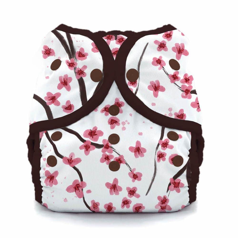 Thirsties - Size Two Duo Nappy Cover - Snaps - Sakura