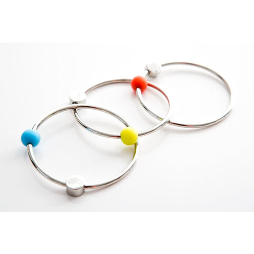 Yummikeys - Yummirings - Stainless Steel Teething Rings