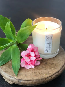 Hand Made Scented Soy Wax Candle - Large - Frosted