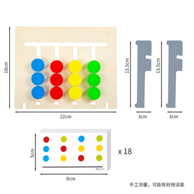 Four-Color Fruit Logic Game