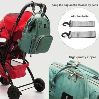 LEQUEEN Waterproof Diaper Bag