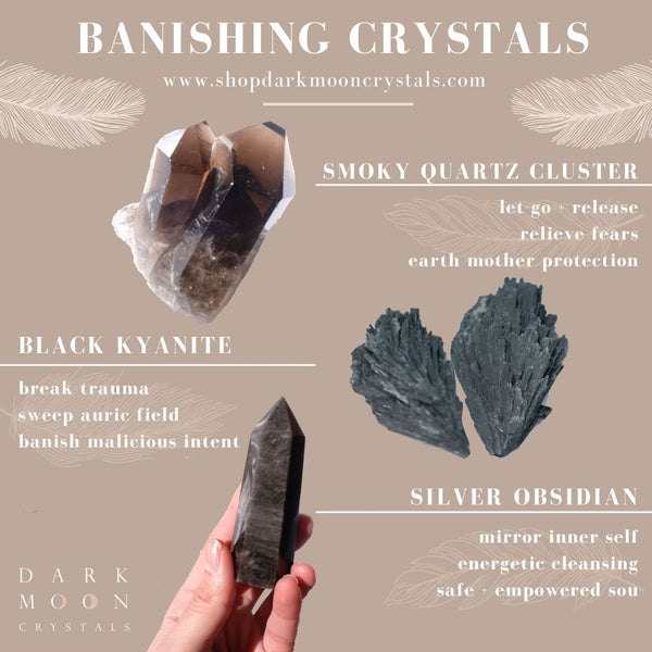 3 Best Crystals for Banishing Evil and Negativity