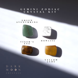 ♊︎ Gemini Zodiac Crystal Kit ©