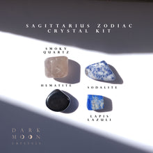 Load image into Gallery viewer, ♐︎ Sagittarius Zodiac Crystal Kit ©
