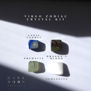 ♍︎ Virgo Zodiac Crystal Kit ©