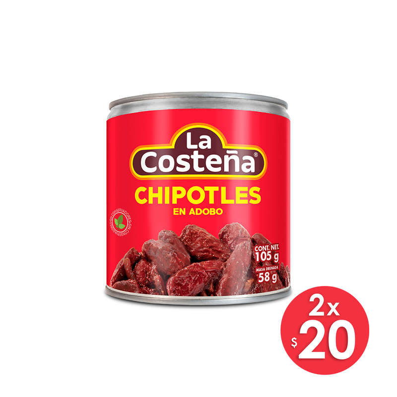 Chiles Chipotles Adobados 105 g