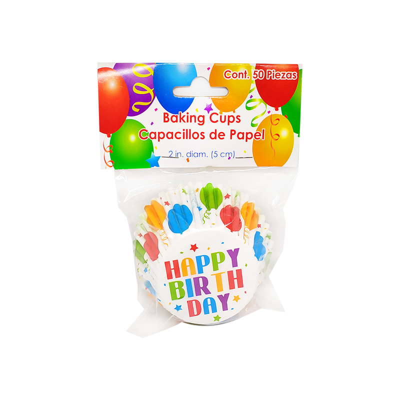 Globos - Set 50 capacillos de papel