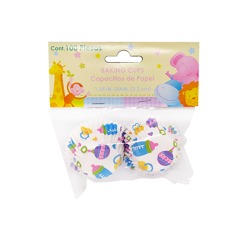 Baby - Set 100 Capacillos de Papel