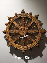 Load image into Gallery viewer, Sandalwood Dharam CHAKRA Rare Wall Hanging Artwork