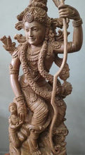 Load and play video in Gallery viewer, Sandalwood Lord Rama with Hanuman Quality Carving Statue