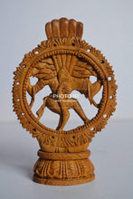Load image into Gallery viewer, Sandalwood Beautifully Carved Small Natraja Statue - Malji Arts