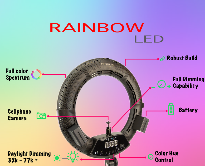 Prismatic Spectra 18 Ring Light