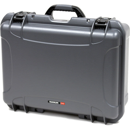 Nanuk 940 Case with Padded Dividers - Graphite
