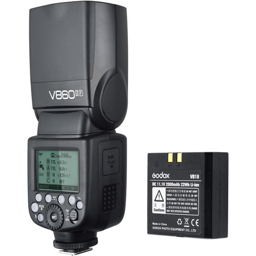 Godox VING V860IIO TTL Li-Ion Flash Kit - Olympus/Panasonic