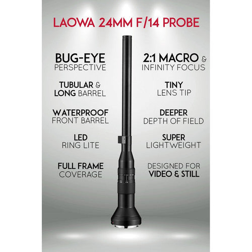 Laowa 24mm f/14 Probe Lens - Canon