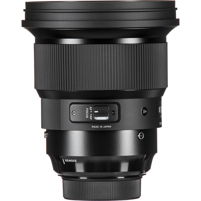 Sigma 105mm f/1.4 DG ART HSM Lens - Sony E-mount